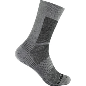 Wrightsock Coolmesh II Merino Crew Socks grey/smoke